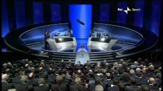 Sorteggio Champions 2009/10 - Seconda Fascia