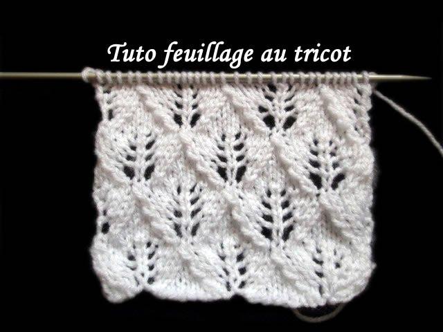 Tuto point de tricot fantaisie fadinou nhltv net - Point tricot ajoure facile ...