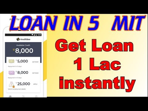 (Kreditbee) Get Loan ₹ 1 Lac instantly | just 3 stap | paperless instant approval | online process