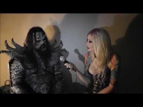 Lordi interview with Hayley Leggs (Bloodstock Radio) May 2013