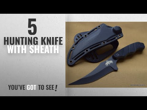 Top 10 Hunting Knife With Sheath [2018]: NEW ARRIVAL! MASTER USA FIXED BLADE HUNTING SKINNING KNIFE