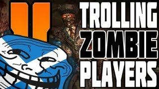 """FUCK THIS SH...!"" Zombies Trolling Black Ops 2 Mob Of The Dead (Hilarious) (Rage)"