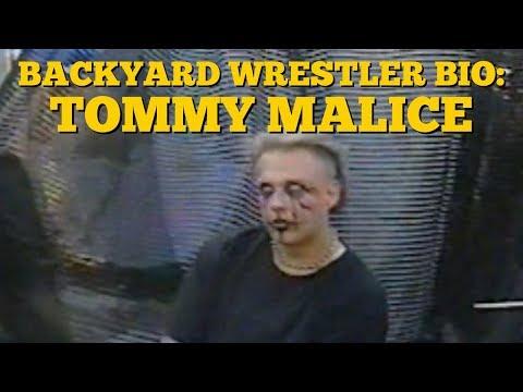 Backyard Wrestling Bio | Tommy Malice