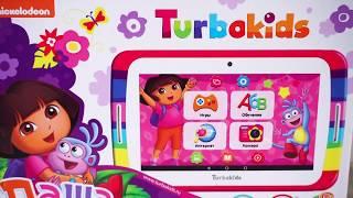 Гаджеты для детей. Распаковка и Обзор. Детский планшет от TurboKids - Даша путешественница