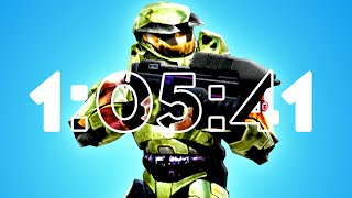 [WR] Halo in 1:05:41 - Legendary Speedrun