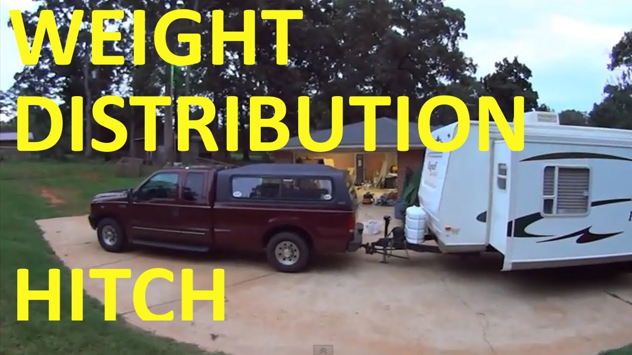 How to properly hook up a weight distribution hitch — 2
