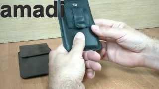 Kabura Flap Vintage Do LG G2, Nexus 5, HTC One M8