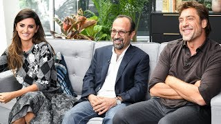 Penelope Cruz & Javier Bardem Talk Asghar Farhadi's 'Everybody Knows' - TIFF 2018