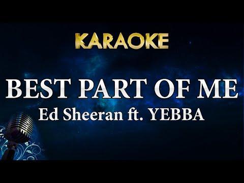 Ed Sheeran - Best Part Of Me Feat. YEBBA (Karaoke Instrumental)