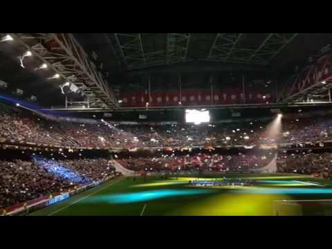 Bloed Zweet En Tranen (Andre Hazes) voorafgaand van Ajax - Legia Warschau