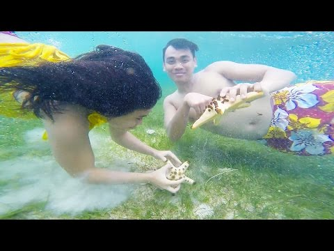 Surigao Del Sur in 1 Minute (Enchanted River, Tinuy-an Falls, Britania Island Hopping, etc)