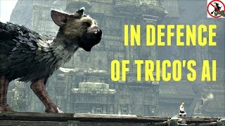 In Defence of Trico's AI (THE LAST GUARDIAN)