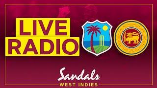 🔴LIVE RADIO   West Indies v Sri Lanka   1st Test Day 2   Sandals Test Series