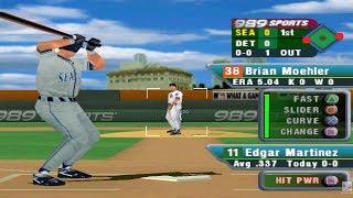 MLB 2001 PS1 Gameplay HD