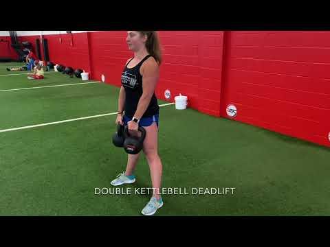 Double Kettlebell Deadlift