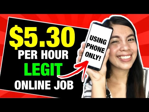 EARN UPTO P268 ($5.30) Per HOUR USING YOUR PHONE | LEGIT HOMEBASED ONLINE JOB Step By Step (TAGALOG)
