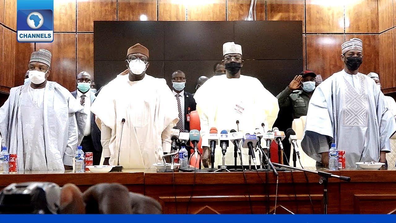 Download [FULL VIDEO] Kidnappings: NGF Delegation Visits Governor Matawalle