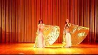 Танец Крылья. Юлианна и Натиша. Шоу-балет ПАНТЕРА, Иркутск