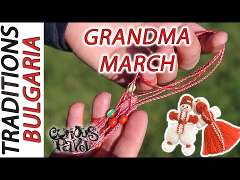 Bulgarian Traditions: BABA MARTA DAY in London! Martenitsas for travellers