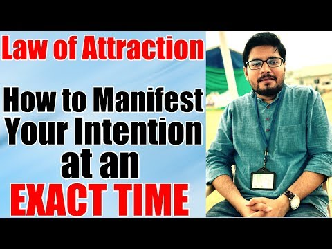 MANIFESTATION #45: How to Manifest Fast with Law of Attraction - Attract at Specific Time