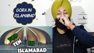 Indian Reaction on American Visits 10 Places in Islamabad Ft. PunjabiReel TV