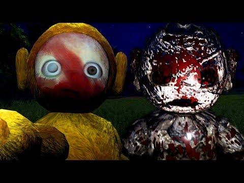 ОНИ СТАЛИ СТРАШНЕЕ!  - ТЕЛЕПУЗИКИ ХОРРОР - Slendytubbies 3 : They're Coming прохождение