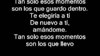 Noel Schajris - momentos Lyrics
