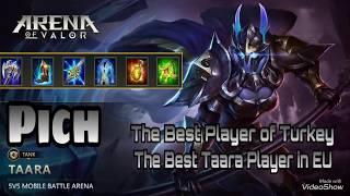 AVRUPANIN EN İYİ TAARASI   Arena of Valor - Pich Taara Gameplay