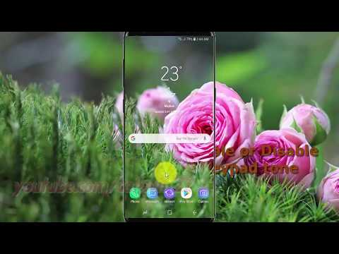 Samsung Galaxy S9 : How to Enable or Disable Dailing keypad tone (Android Oreo)