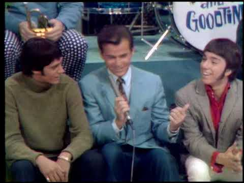 American Bandstand 1967- Interview Don and the Goodtimes