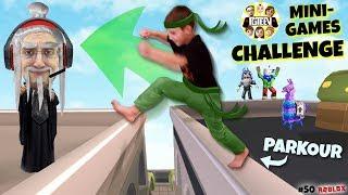 Parkour Ninjas Challenge (fgteev Roblox #50)
