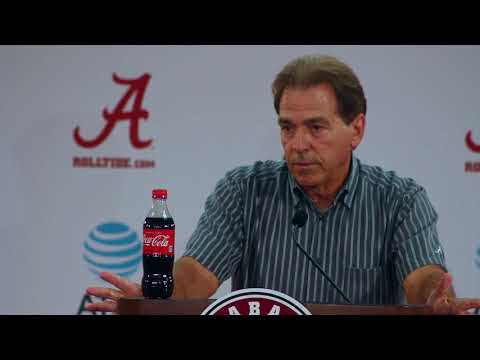 Nick Saban on NFL protests