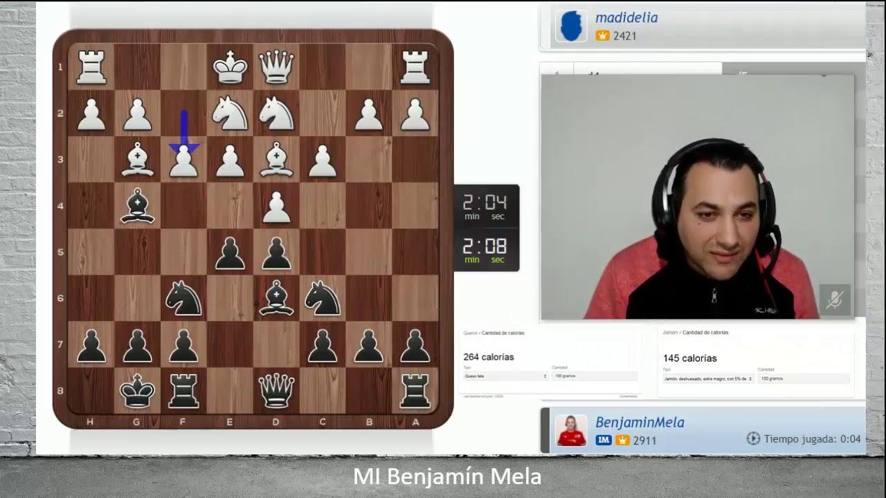 Resultado de imagen para benjamin mela ajedrez