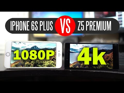 Sony Xperia Z5 Premium vs iPhone 6s Plus - Display/Speed/Camera/Battery Test