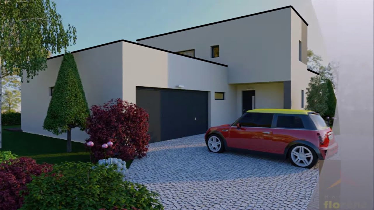 maison contemporaine - youtube - Photo De Maison Contemporaine