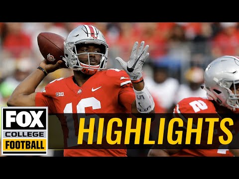 Maryland vs Ohio State  | Highlights | FOX COLLEGE FOOTBALL
