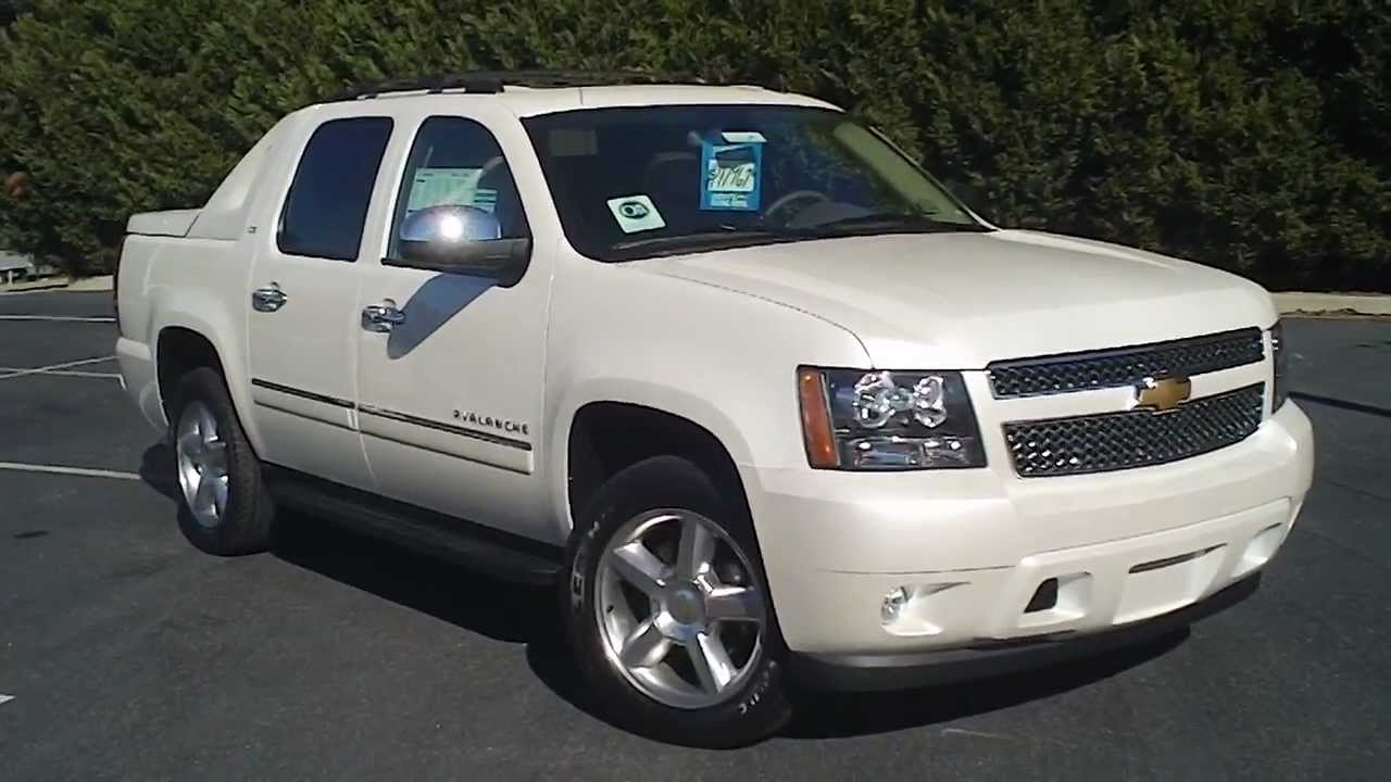 2012 Chevrolet Avalanche Ltz Capitol Automotive New C