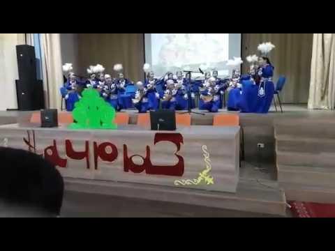 Алматы қаласы 156 школа Нурдомбыра ансамблі
