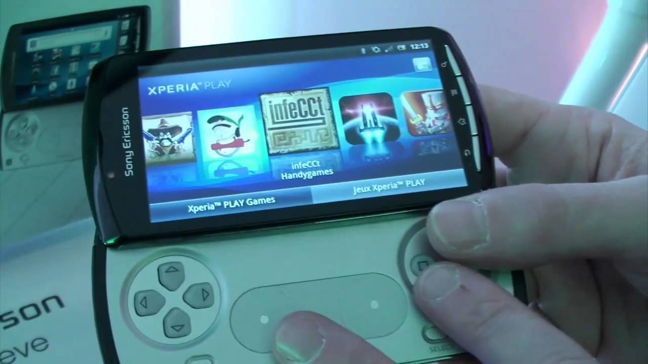 Sony Ericsson Xperia Play in the Test