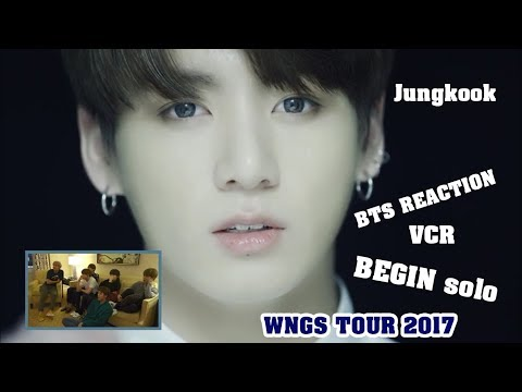 [ENG/VIET SUB] BTS Reaction VCR + BEGIN Jungkook solo - WINGS TOUR 2017
