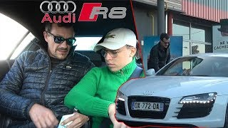 COVOITURAGE EN AUDI R8, ON KIDNAPPE UNE FILLE !!