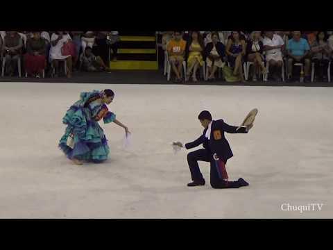 Asia 2018. Camila Aragon y Joaquin Reyes. Campeones Mundiales de Marinera Infantil