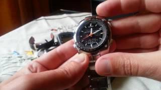 Обзор часов Seiko Sportura World Timer SNJ007, SNJ005 (механизм H023)
