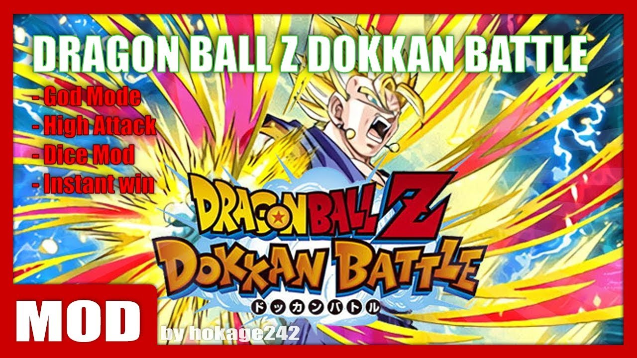 DRAGON BALL Z DOKKAN BATTLE (Global) 4.4.1 MOD APK by hokage242  #Smartphone #Android