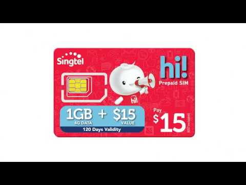 The New Prepaid $15 hi! SIM Card with 1GB Data!