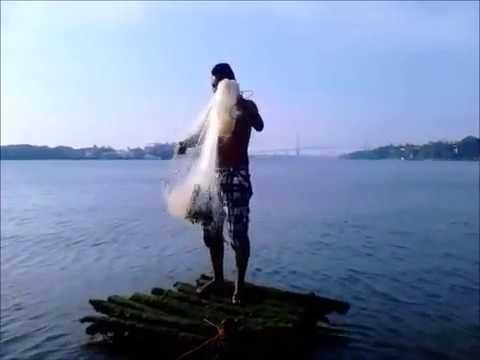 Pescando en rio panuco