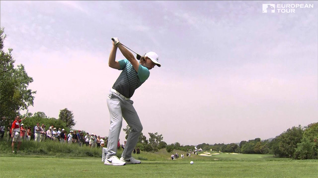 Tommy Fleetwood Slow Motion Golf Swing Driver Youtube
