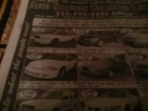 Auto service unlimted selling junk cars lemons in robersonville nc