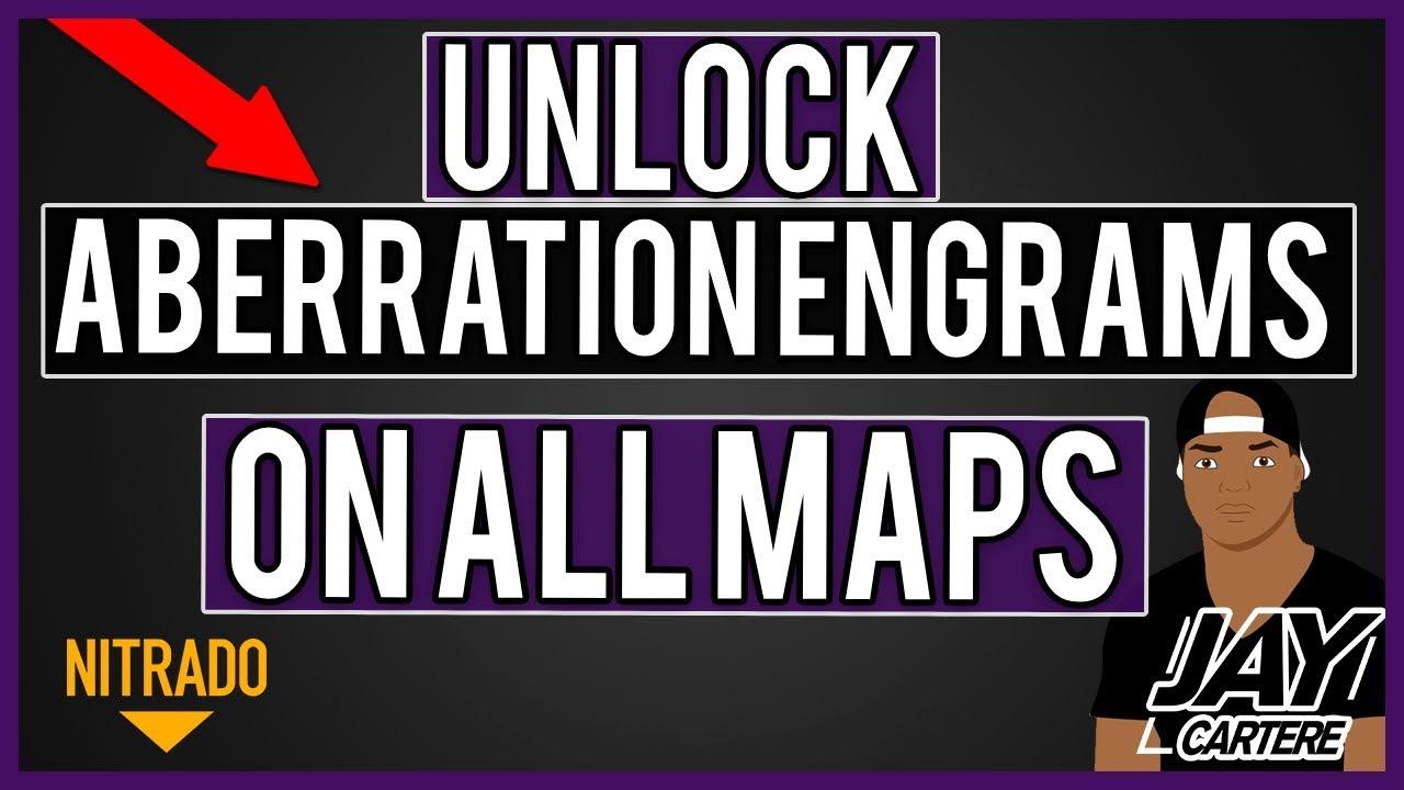 HOW TO UNLOCK ABERRATION ENGRAMS ON ALL OTHER MAPS (RAGNAROK ETC) - ARK PS4  NITRADO SERVER TUTORIAL