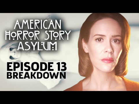 AHS: Asylum Season 2 Episode 13 Season Finale Breakdown!